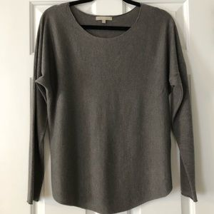 Joan Vass Cashmere Blend Boatneck Sweater